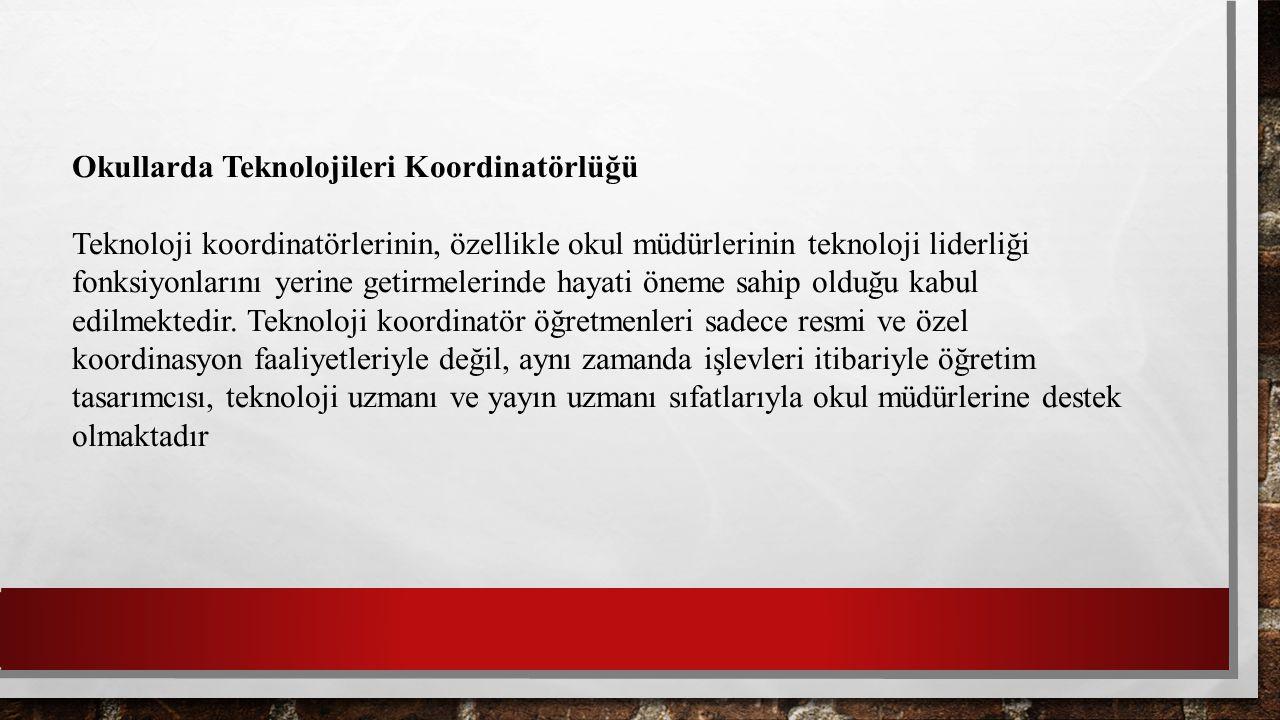 Okullarda Teknolojileri Koordinatörlüğü