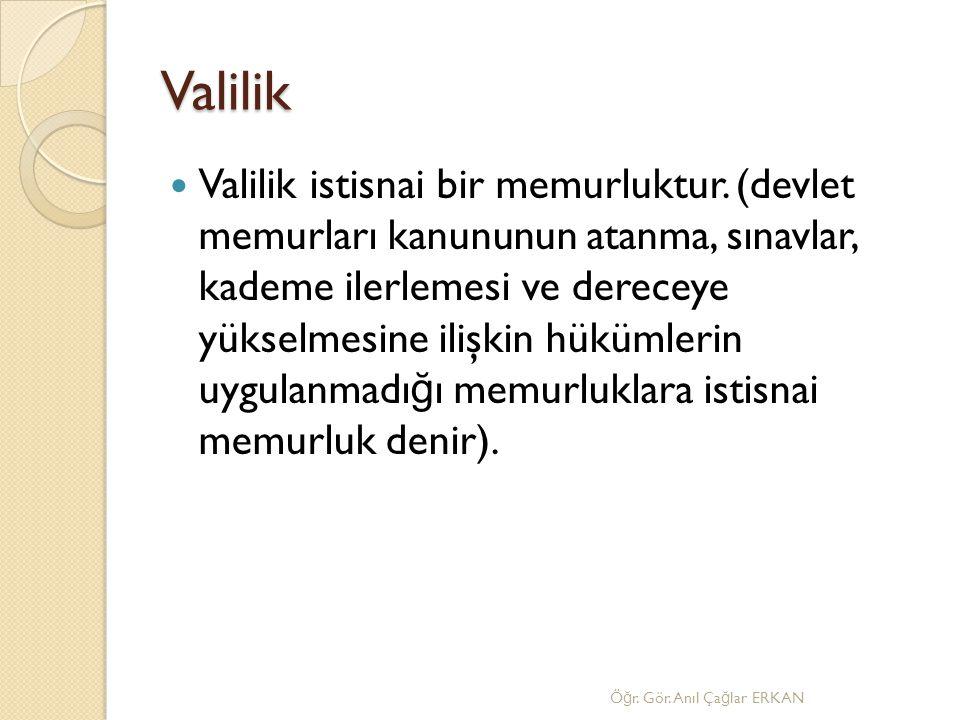 Valilik