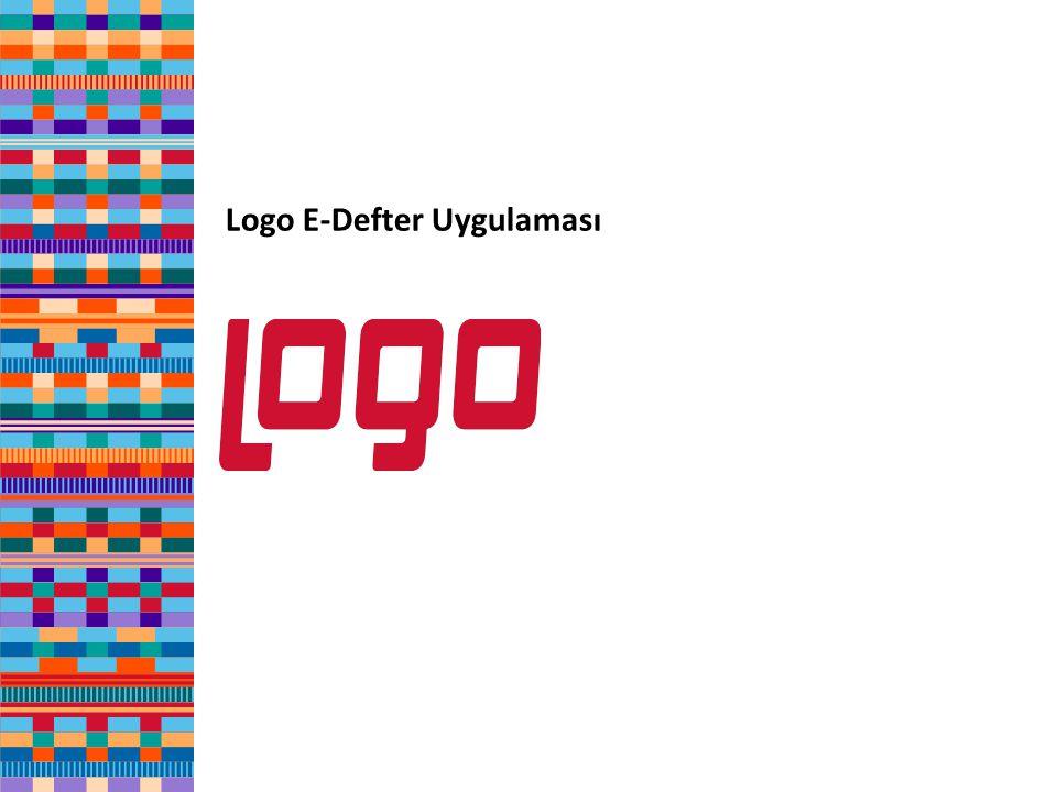 Logo E-Defter Uygulaması