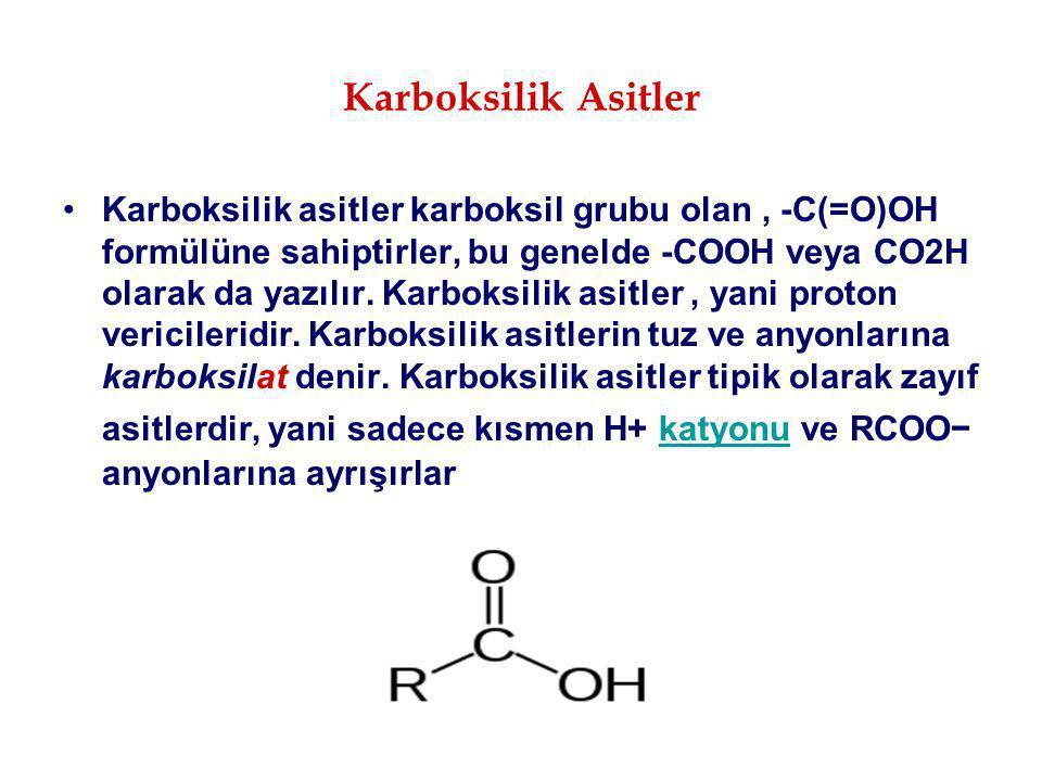 Karboksilik Asitler