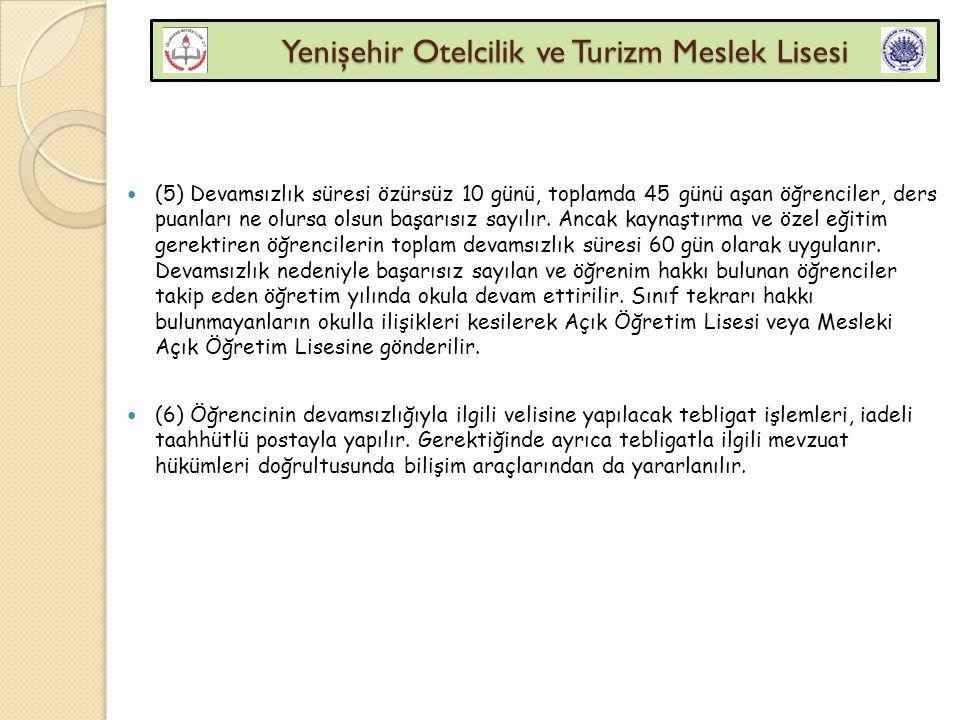 Yenişehir Otelcilik ve Turizm Meslek Lisesi