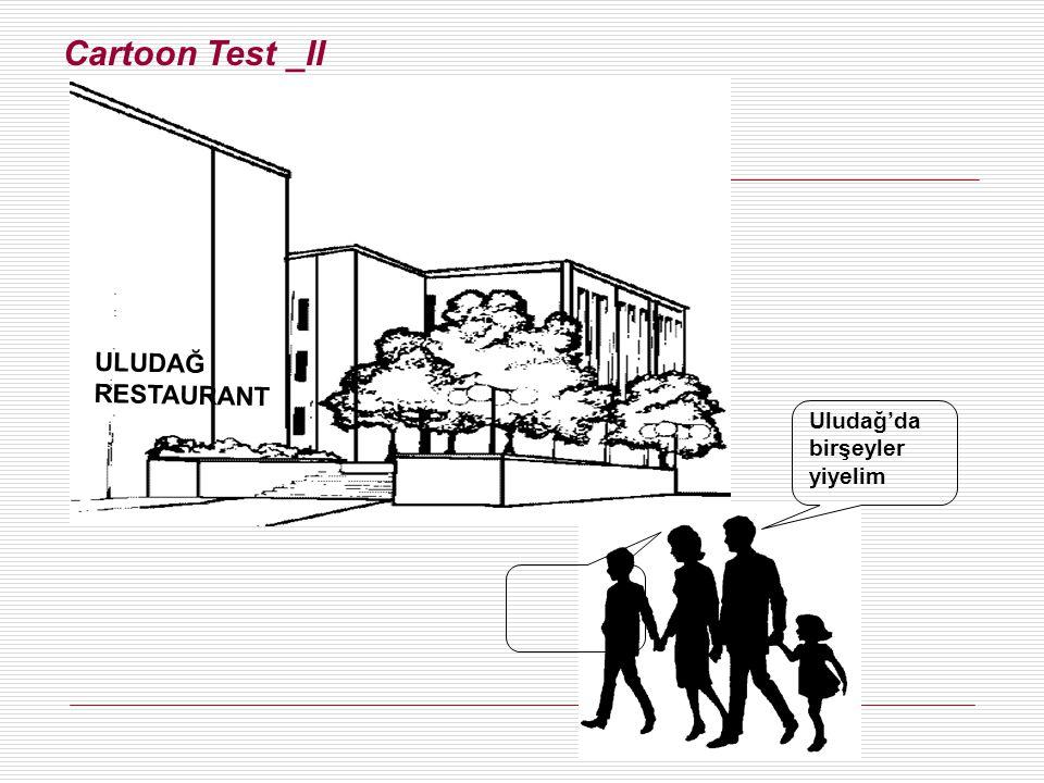 Cartoon Test _II ULUDAĞ RESTAURANT Uludağ'da birşeyler yiyelim