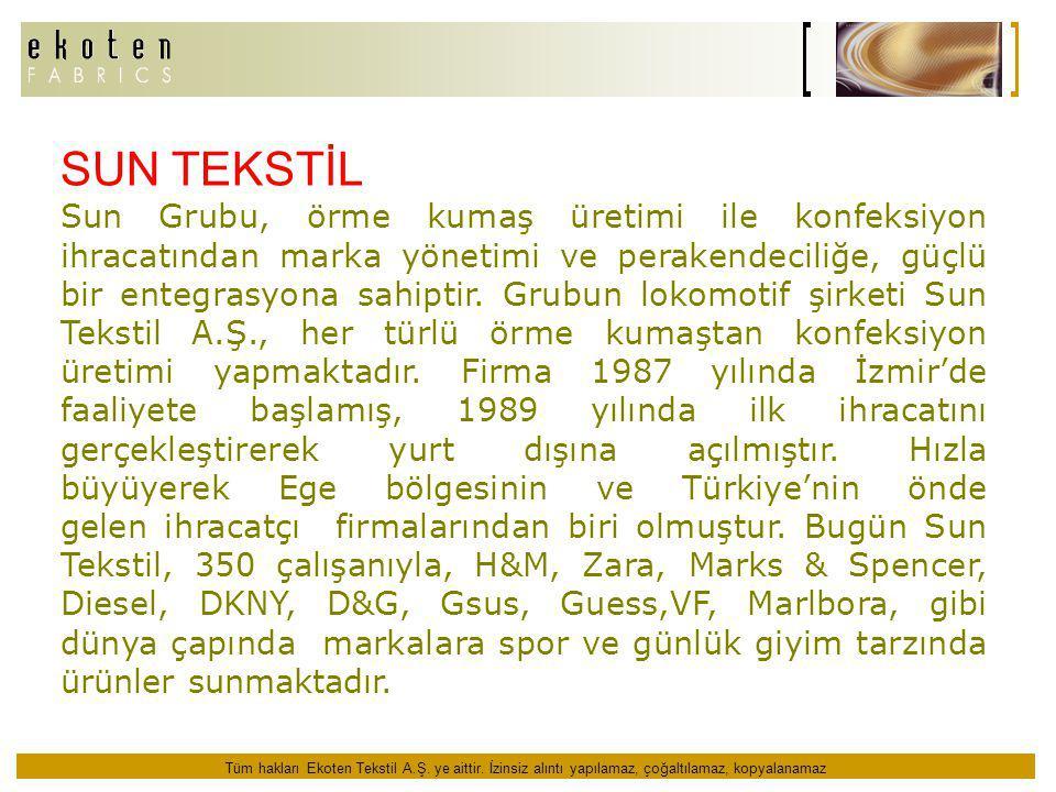 SUN TEKSTİL