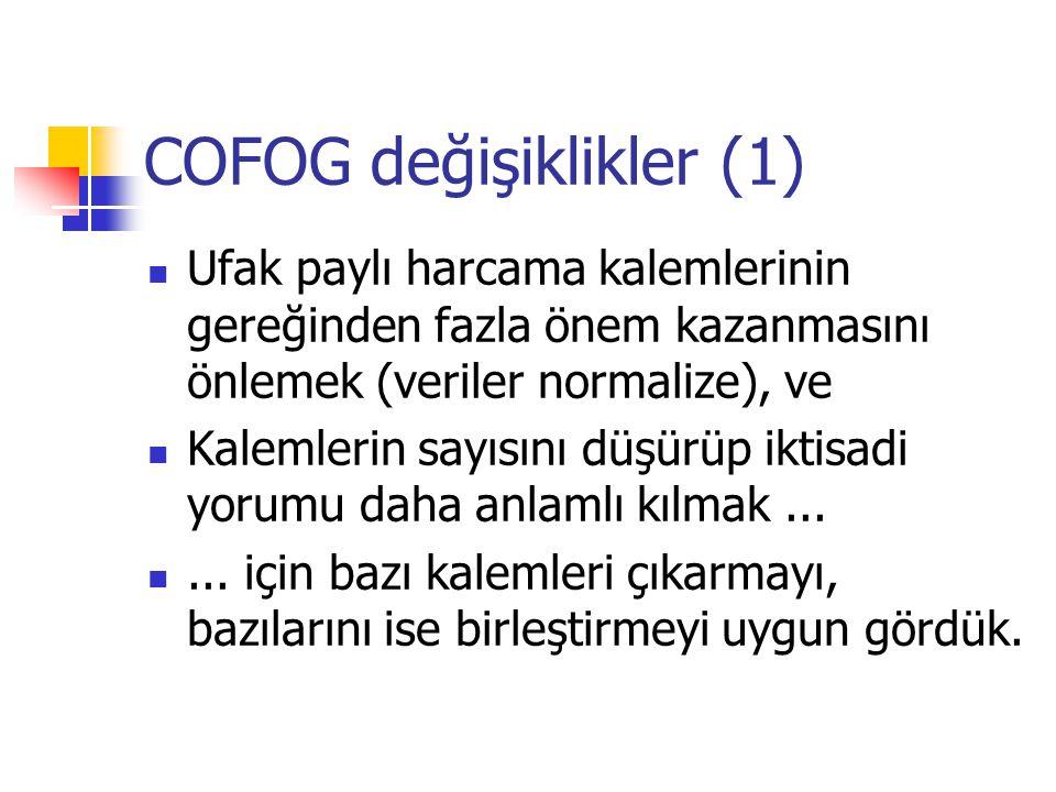 COFOG değişiklikler (1)