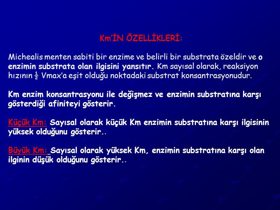 Km'İN ÖZELLİKLERİ: