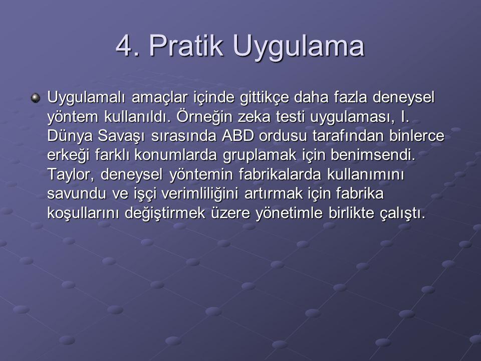 4. Pratik Uygulama