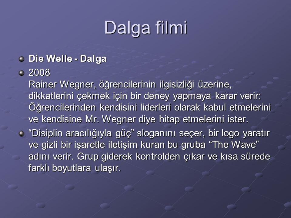 Dalga filmi Die Welle - Dalga