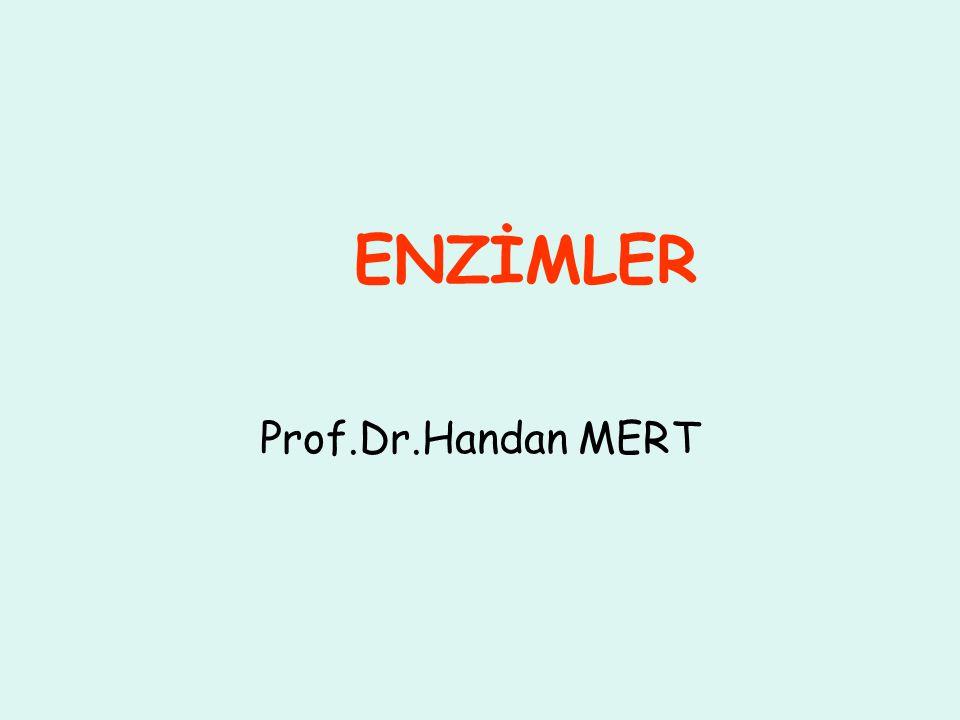 ENZİMLER Prof.Dr.Handan MERT