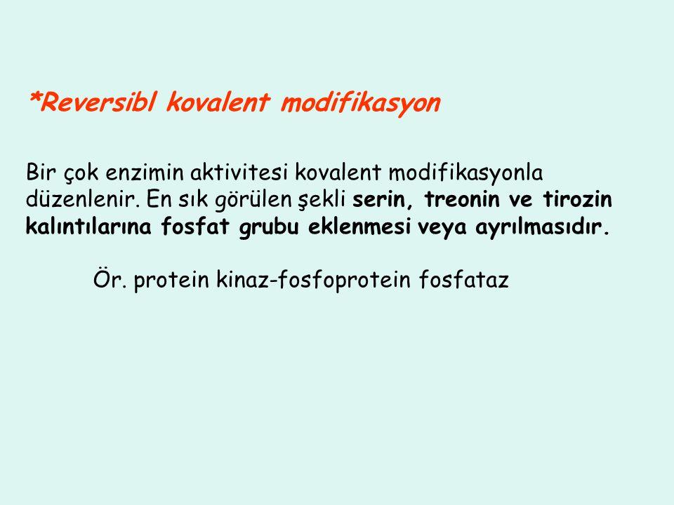*Reversibl kovalent modifikasyon
