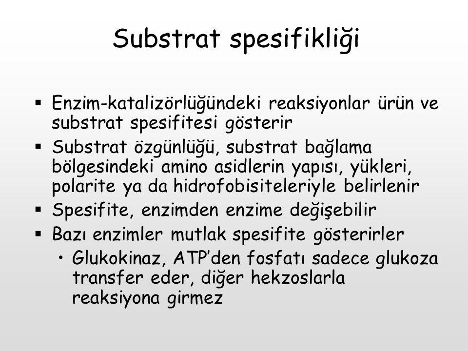 Substrat spesifikliği