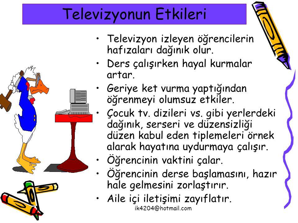 Televizyonun Etkileri