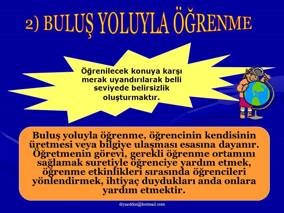 2) BULUŞ YOLUYLA ÖĞRENME