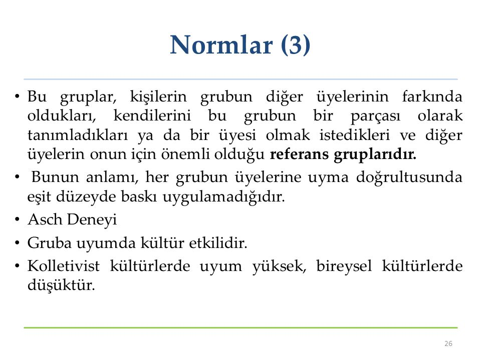 Normlar (3)