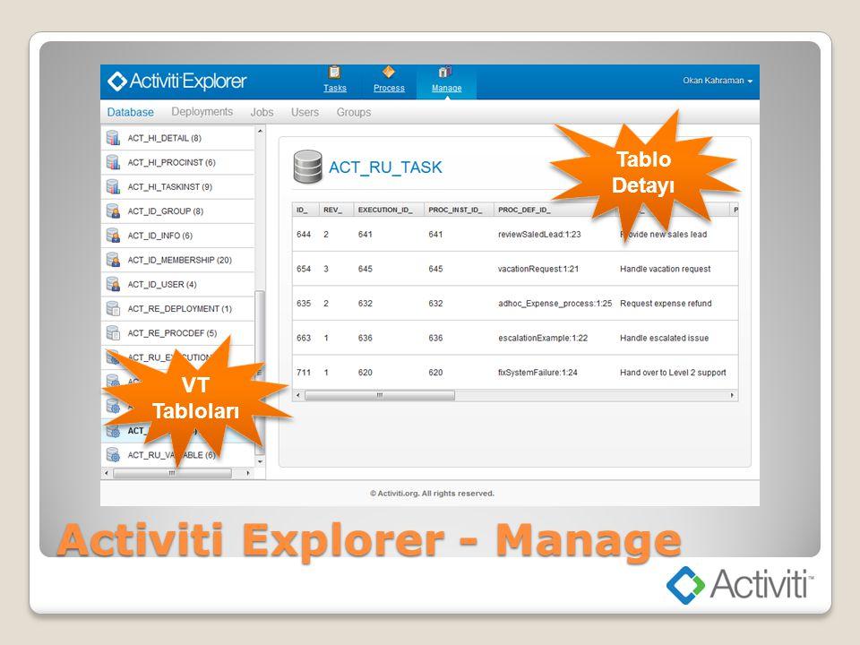 Activiti Explorer - Manage