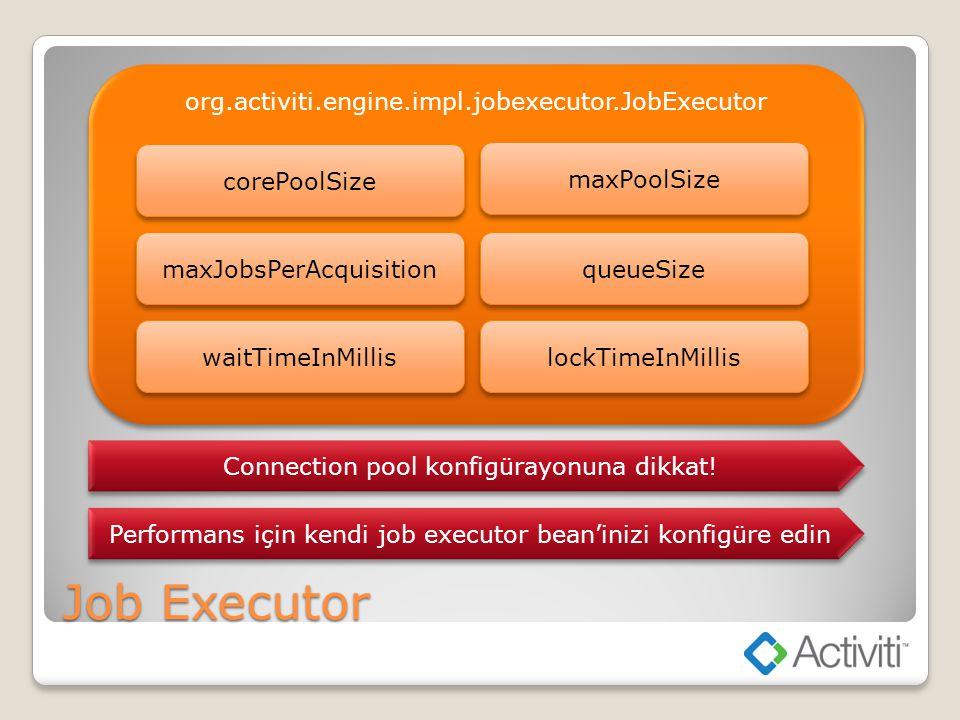 Job Executor org.activiti.engine.impl.jobexecutor.JobExecutor