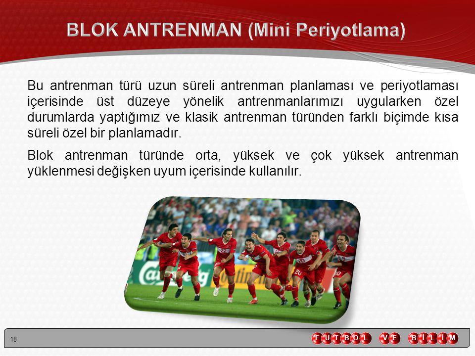 BLOK ANTRENMAN (Mini Periyotlama)