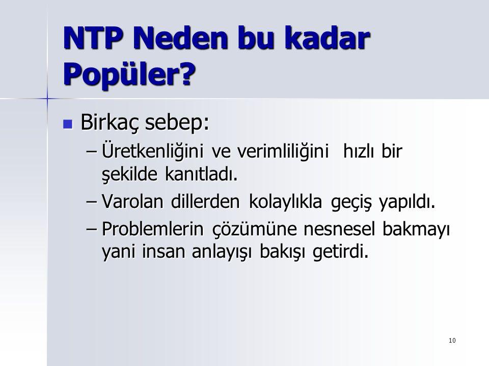NTP Neden bu kadar Popüler