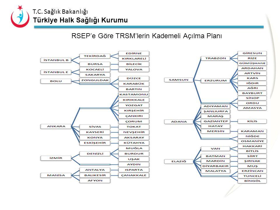 RSEP'e Göre TRSM'lerin Kademeli Açılma Planı