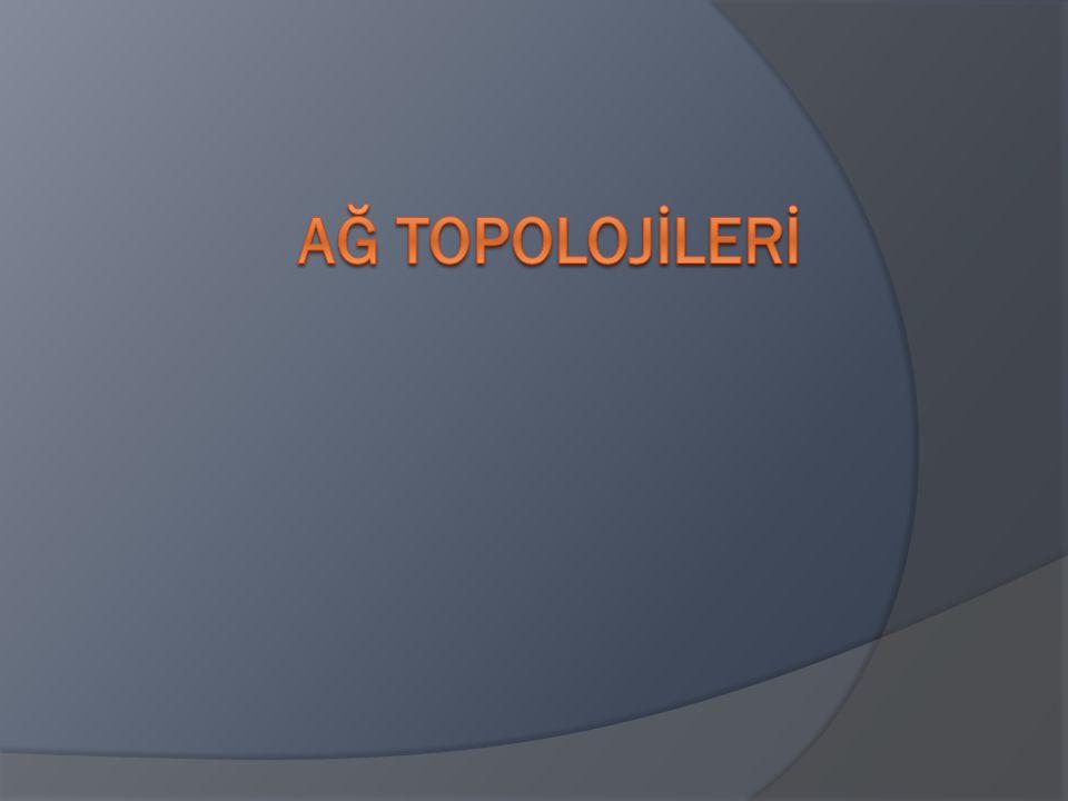 Ağ Topolojİlerİ