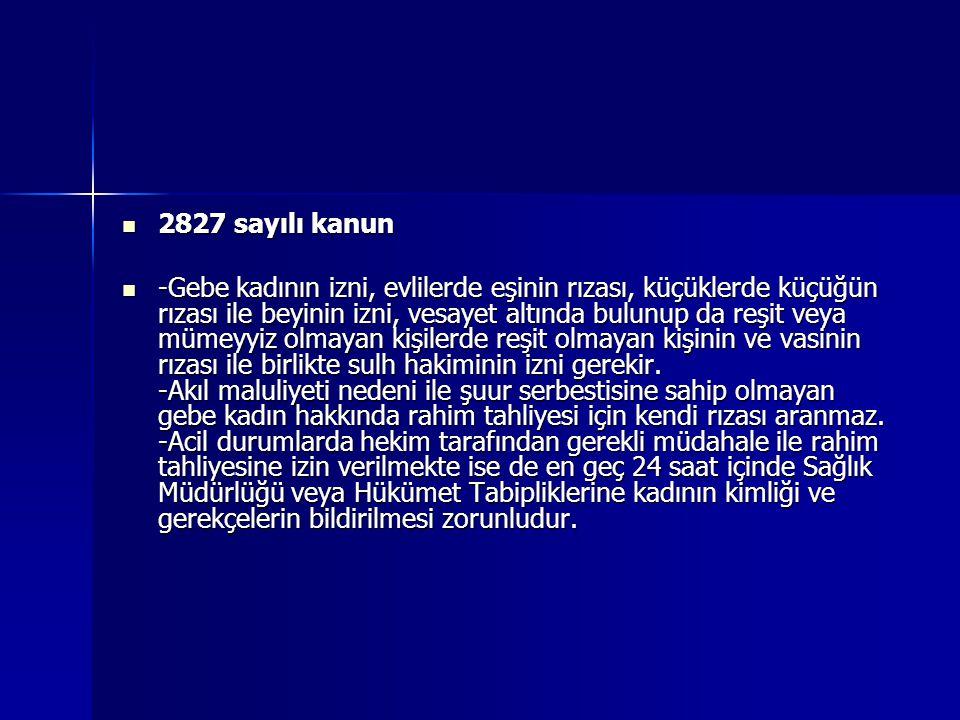 2827 sayılı kanun