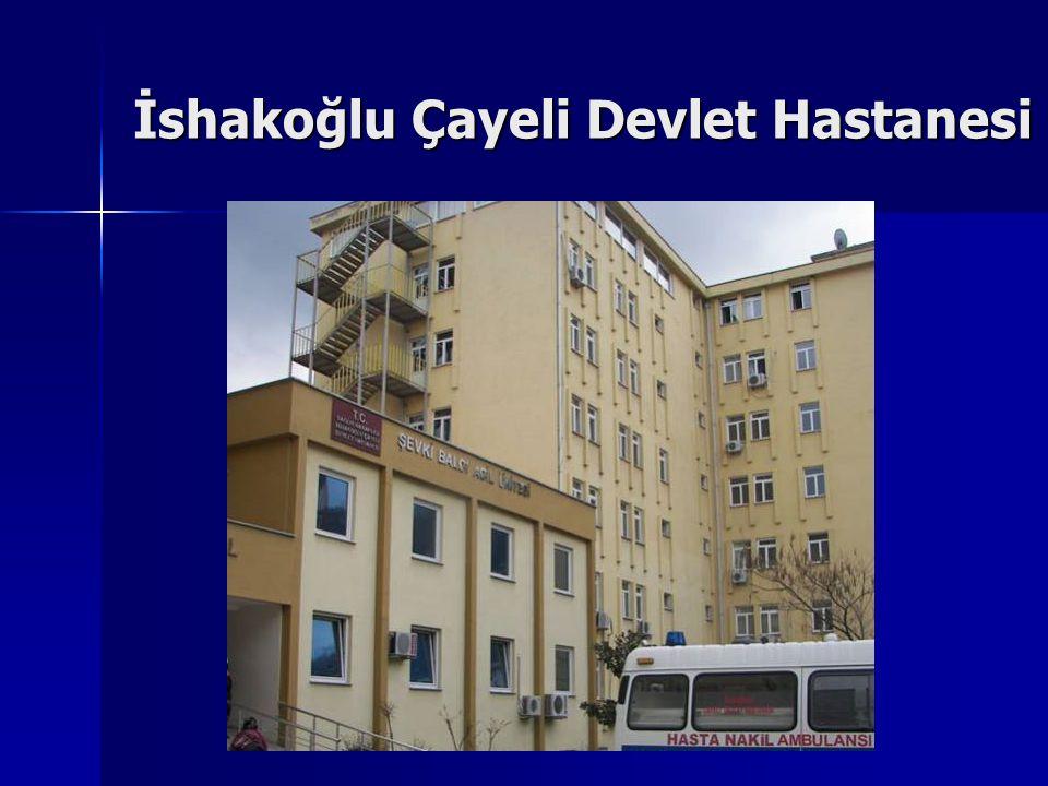 İshakoğlu Çayeli Devlet Hastanesi