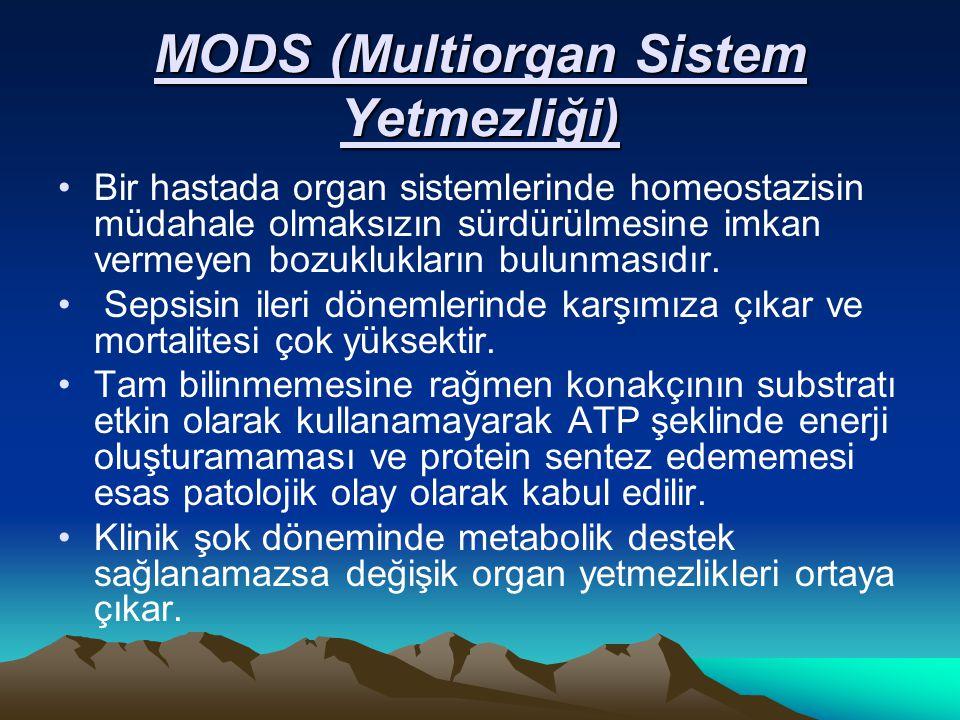 MODS (Multiorgan Sistem Yetmezliği)