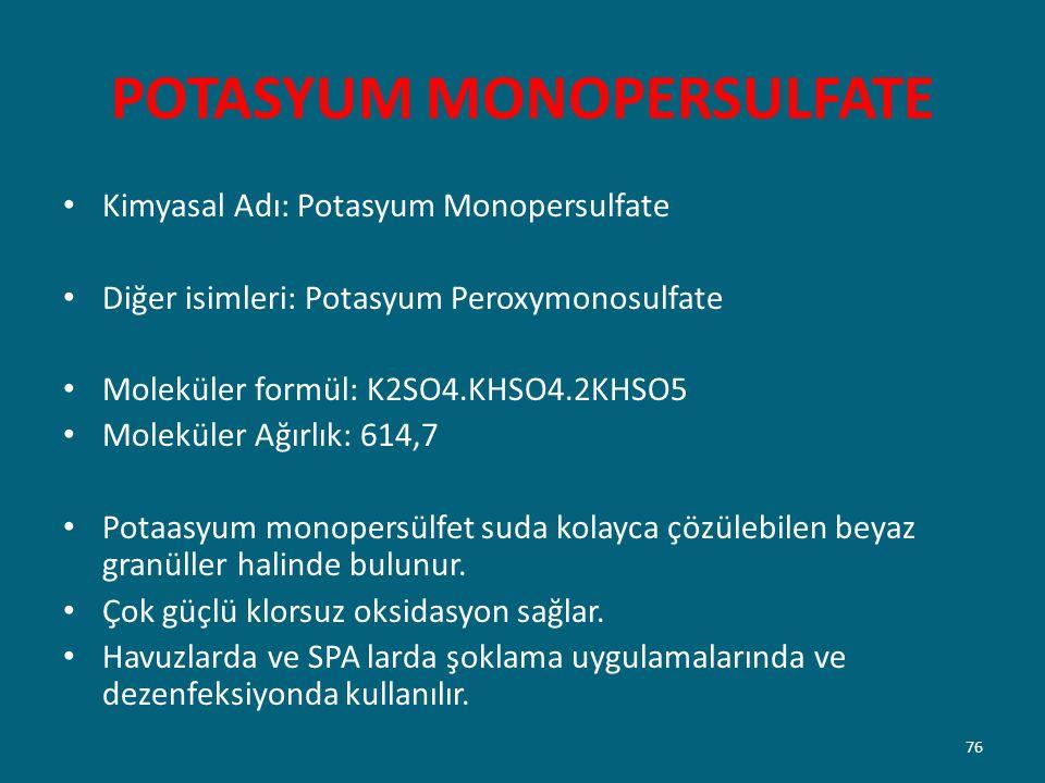 POTASYUM MONOPERSULFATE
