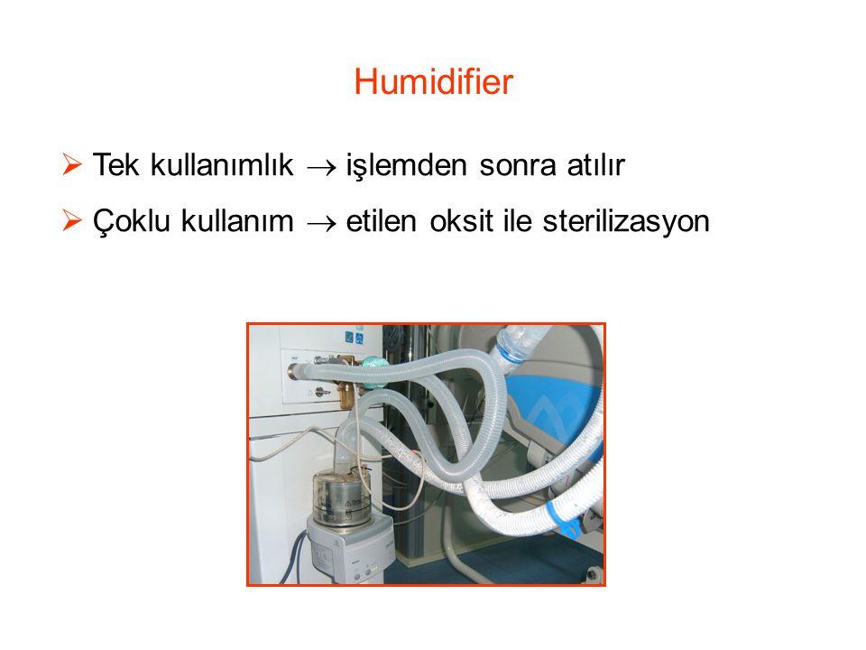 Humidifier Tek kullanımlık  işlemden sonra atılır
