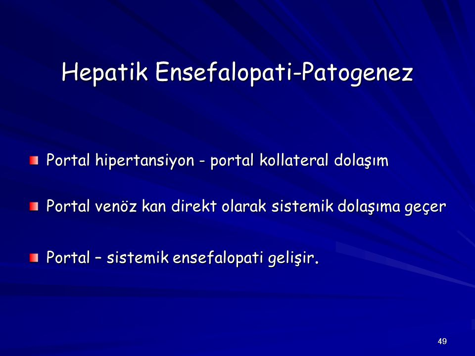 Hepatik Ensefalopati-Patogenez