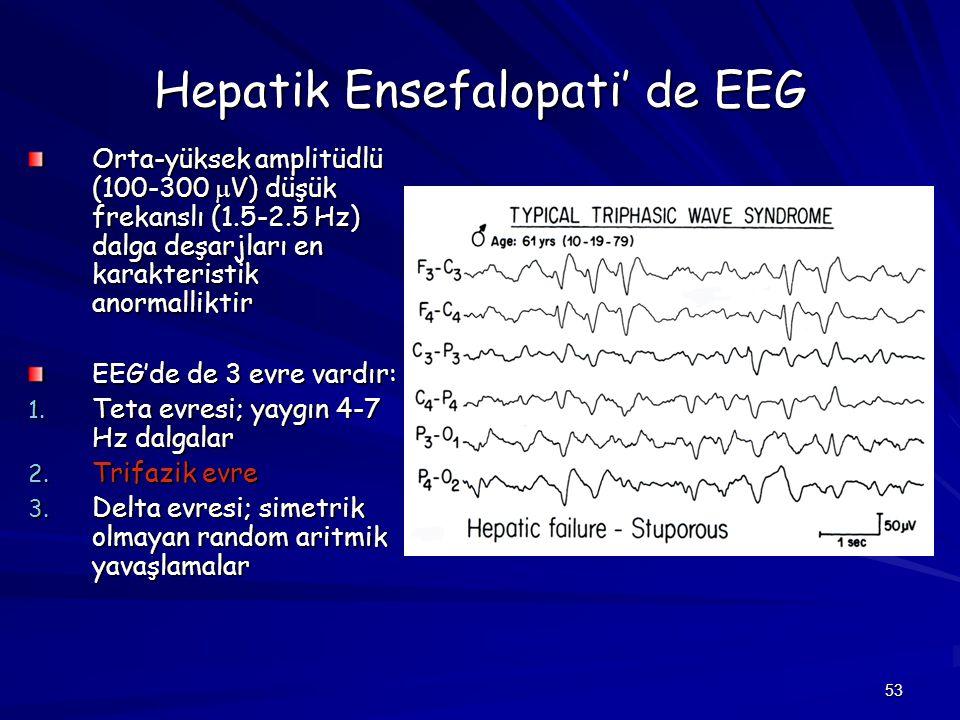 Hepatik Ensefalopati' de EEG