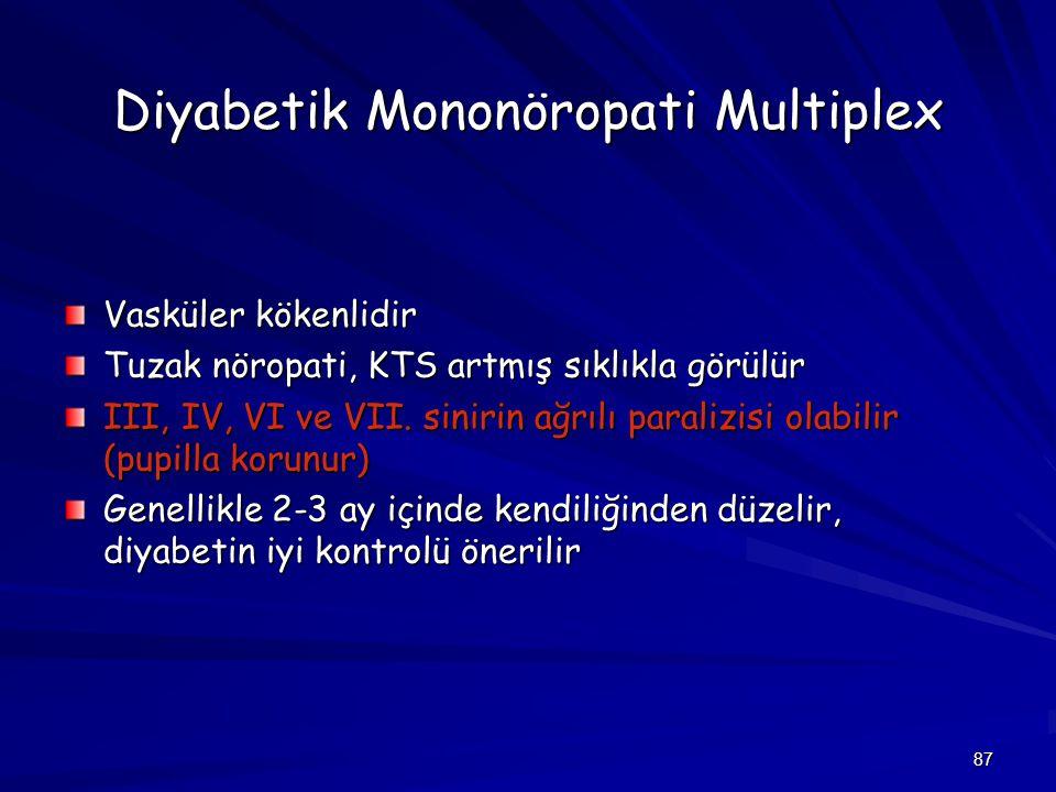 Diyabetik Mononöropati Multiplex