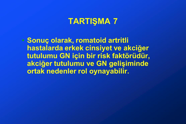 TARTIŞMA 7