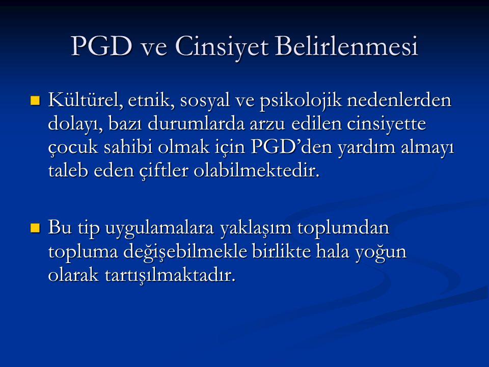PGD ve Cinsiyet Belirlenmesi