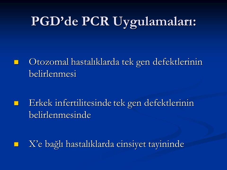 PGD'de PCR Uygulamaları: