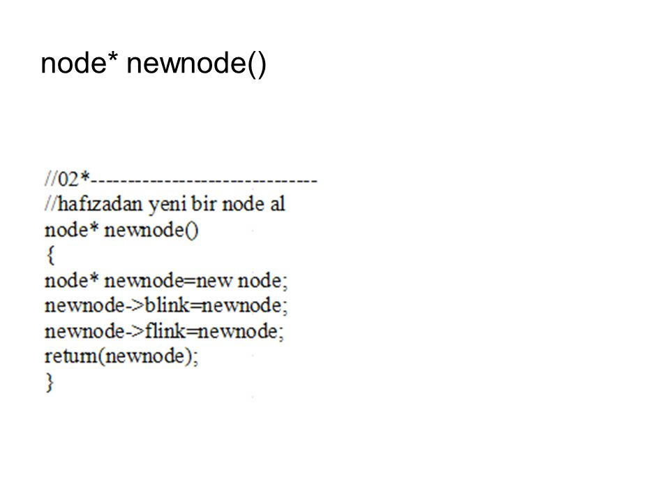 node* newnode()