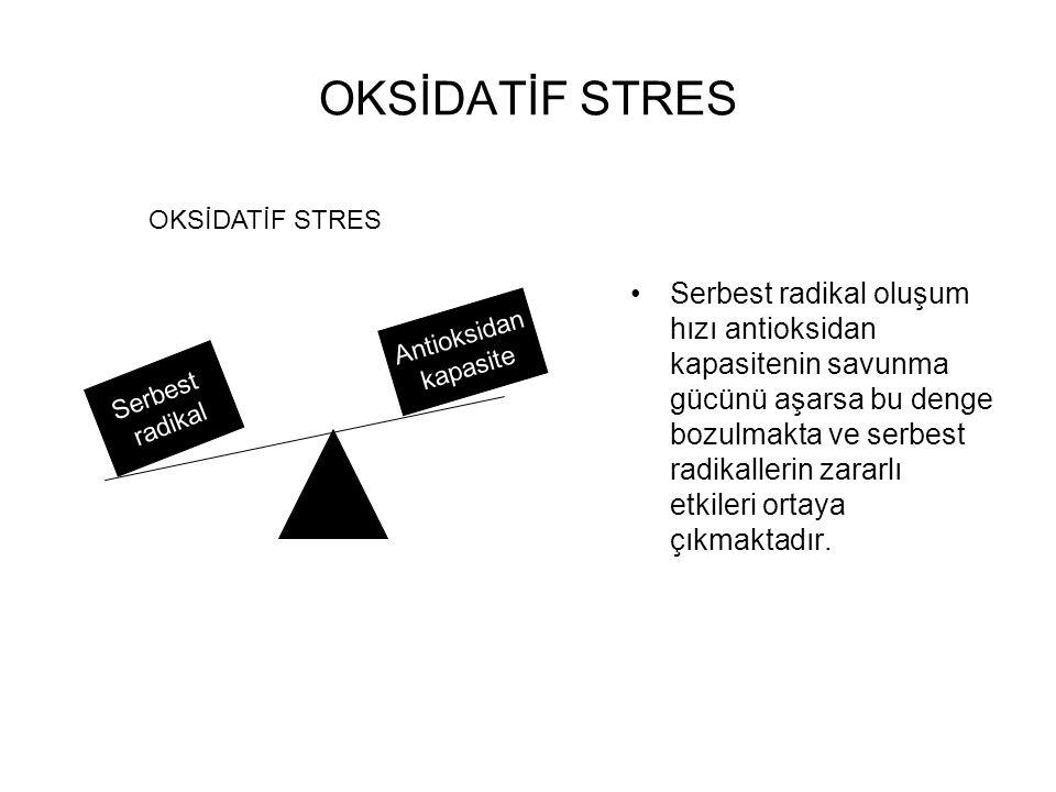 OKSİDATİF STRES