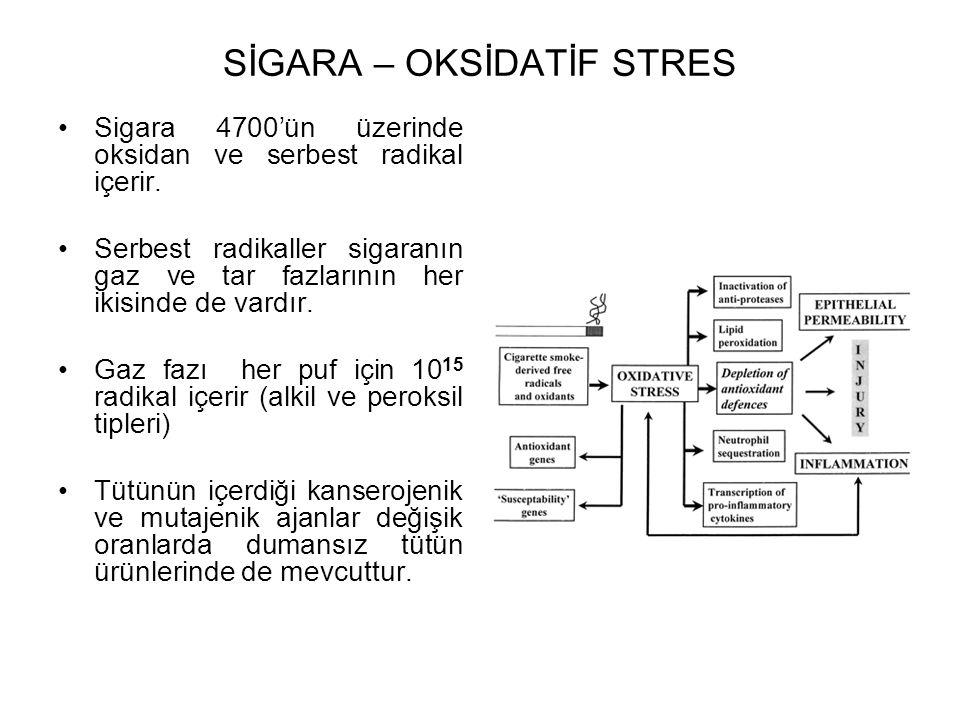 SİGARA – OKSİDATİF STRES