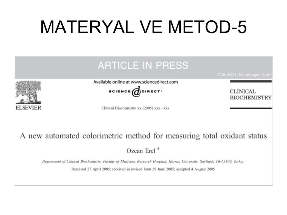 MATERYAL VE METOD-5