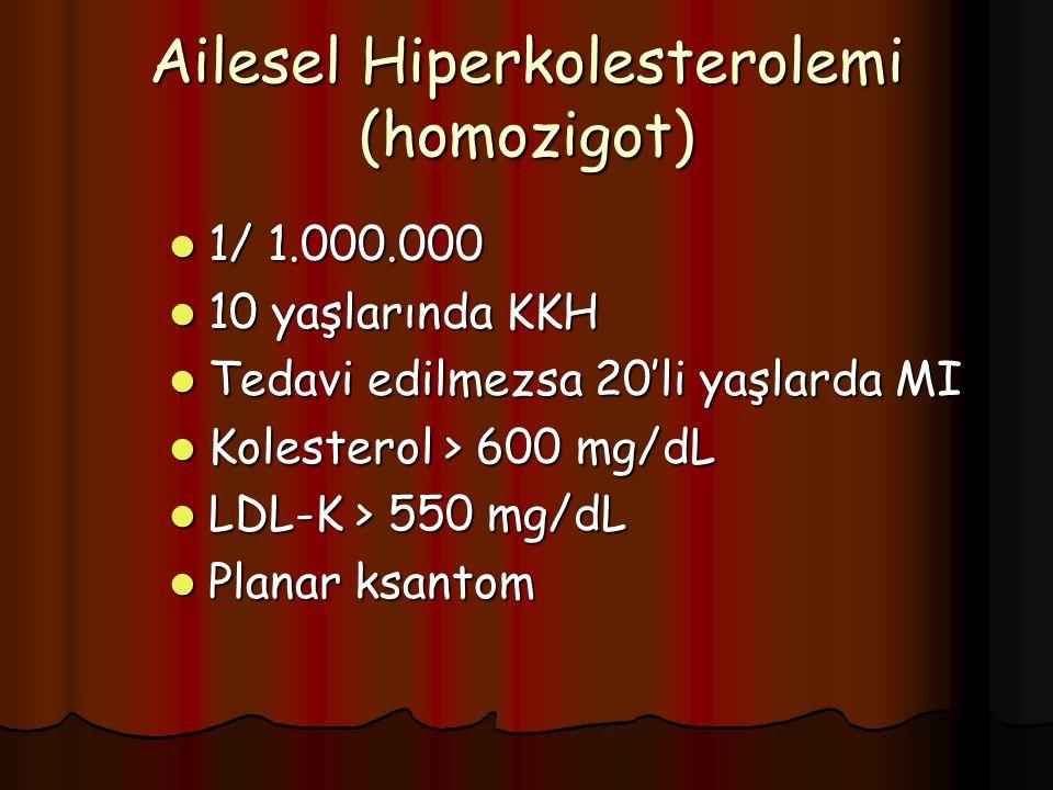 Ailesel Hiperkolesterolemi (homozigot)
