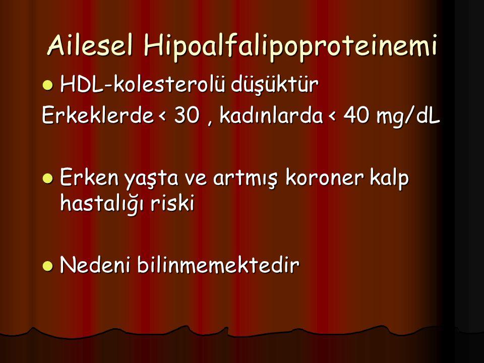 Ailesel Hipoalfalipoproteinemi