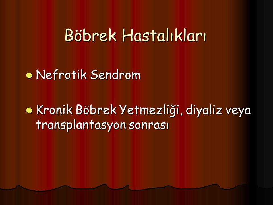 Böbrek Hastalıkları Nefrotik Sendrom