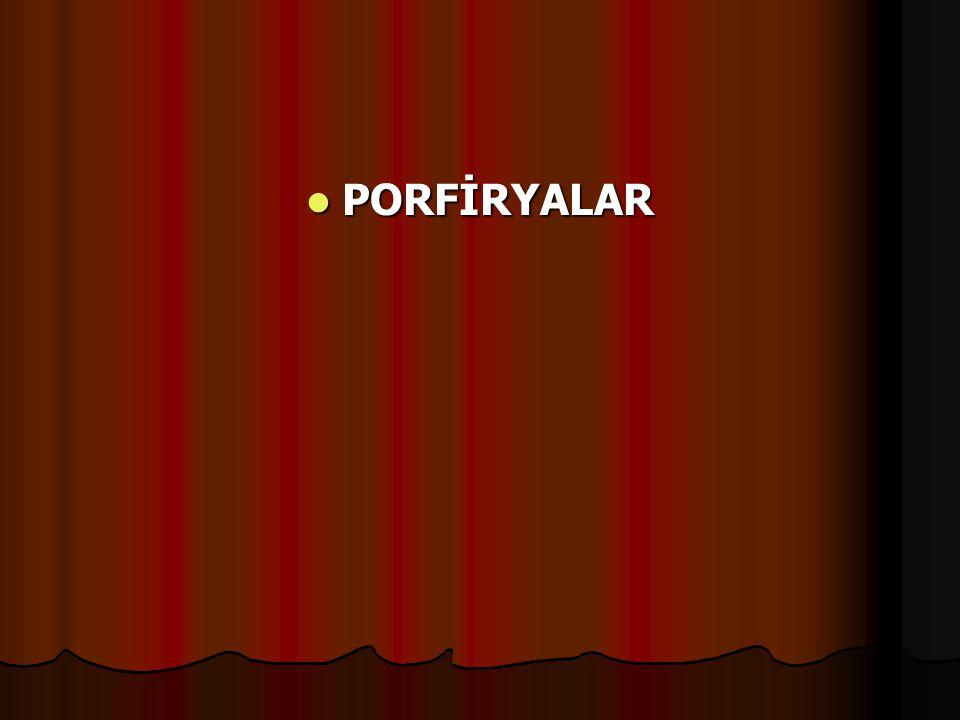 PORFİRYALAR