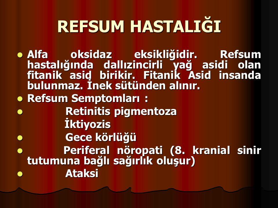 REFSUM HASTALIĞI