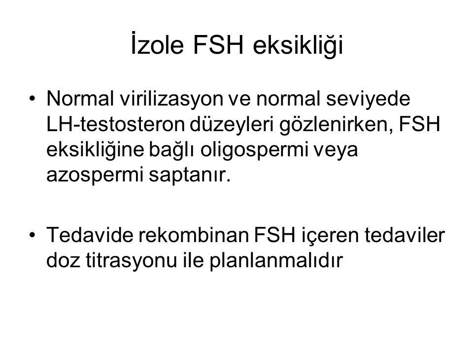 İzole FSH eksikliği