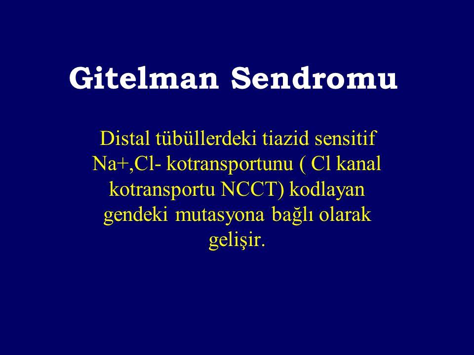 Gitelman Sendromu