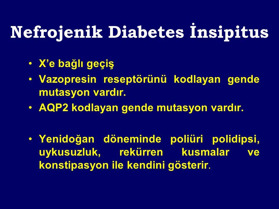 Nefrojenik Diabetes İnsipitus