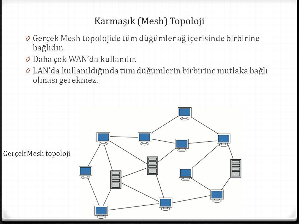 Karmaşık (Mesh) Topoloji