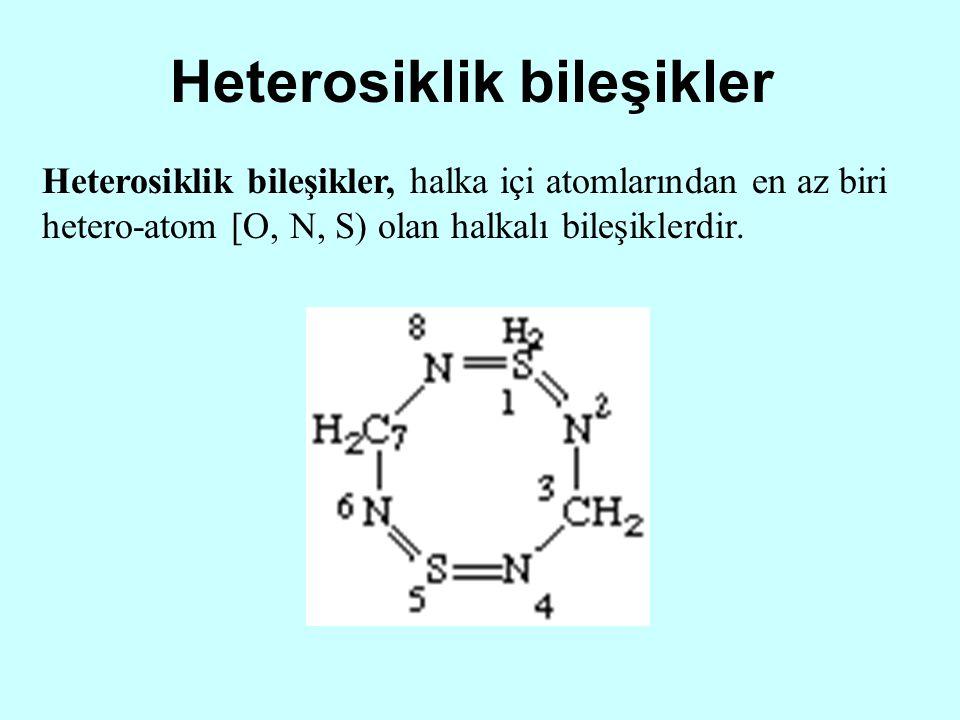 Heterosiklik bileşikler