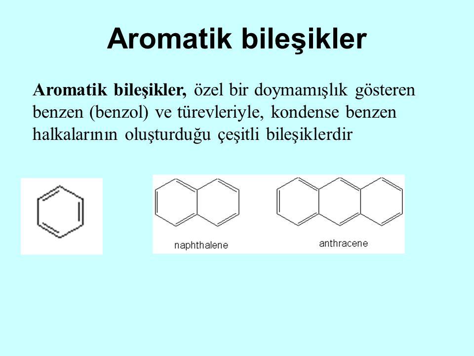Aromatik bileşikler