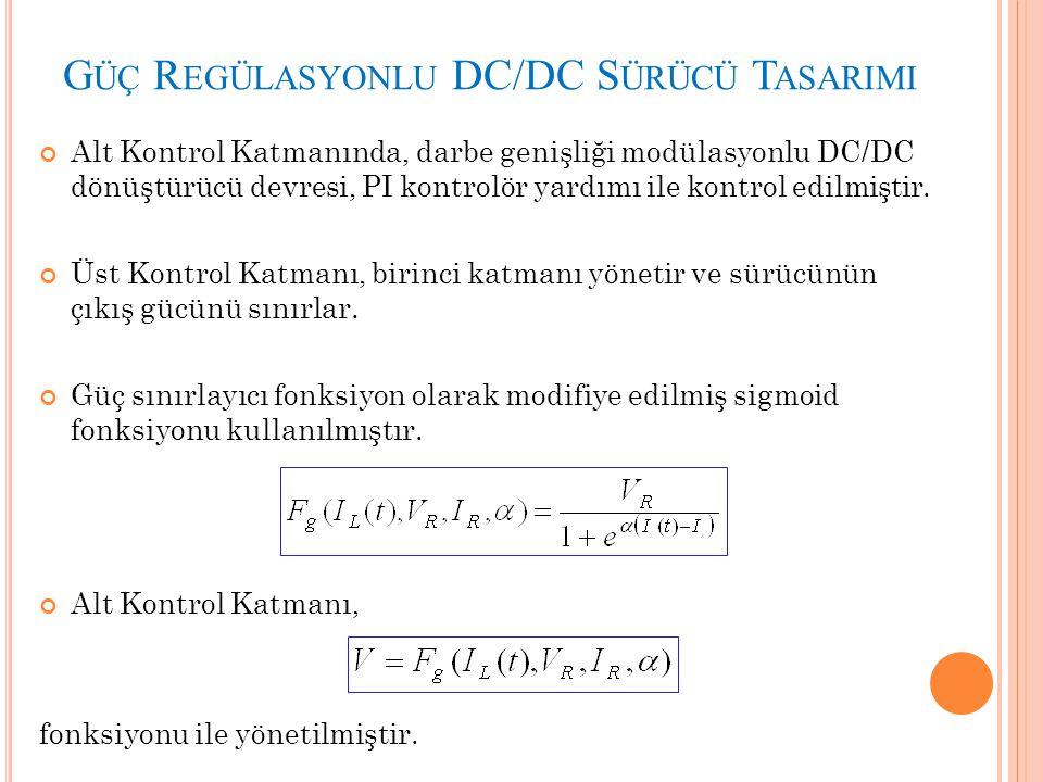 Güç Regülasyonlu DC/DC Sürücü Tasarimi